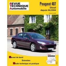 RTA 686.2 PEUGEOT 407 D - Version numérique