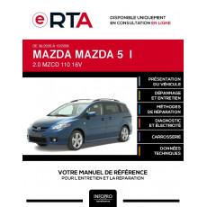 E-RTA Mazda Mazda 5 I MONOSPACE 5 portes de 06/2005 à 10/2008