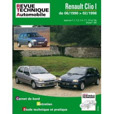 RTA 115.1 RENAULT CLIO ESSENCE ET DIESEL - Version numérique