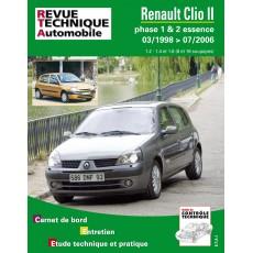 RTA 116.1 RENAULT CLIO 2 PHASE 1 ET 2 ESSENCE - Version numérique