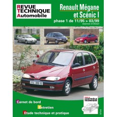 RTA 119.1 RENAULT MEGANE ET SCENIC ES/DIE JUSQU'A 99 - Version numérique