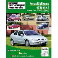 RTA 120.1 RENAULT MEGANE/SCENIC ES./DIE JUSQU'A 2003 - Version numérique