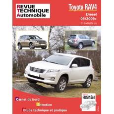 RTA B751 TOYOTA RAV 4 III D4-D (150) DEPUIS 05/2009 - Version numérique