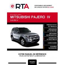 E-RTA Mitsubishi Pajero IV BREAK 3 portes de 01/2007 à 12/2011