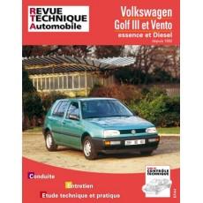 RTA 720.2 Volkswagen GOLF ET VENTO (92-96) - Version numérique