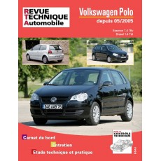 RTA B721.6 Volkswagen POLO ESS 1,4 16V ET 1,4 TDI depuis 05/05 - Version numérique