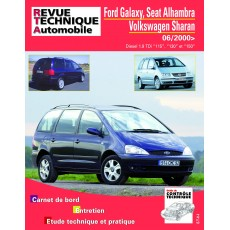RTA B732 FORD GALAXY PH2+SEAT ALHAMBRAII+VolkswagenG SHARAN - Version numérique