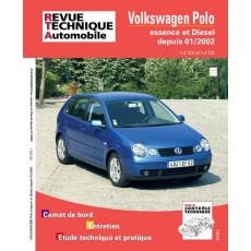 RTA 683.1 Volkswagen POLO DEPUIS 01/02 - Version numérique