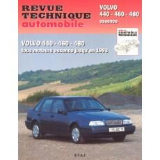 RTA 540.2 VOLVO 440-460 ET 480 ESSENCE (1987/1993) - Version numérique