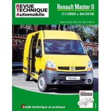 RTA B760 RENAULT MASTER II PHASE2 2.5DCI 2003 a 2010 - Version numérique