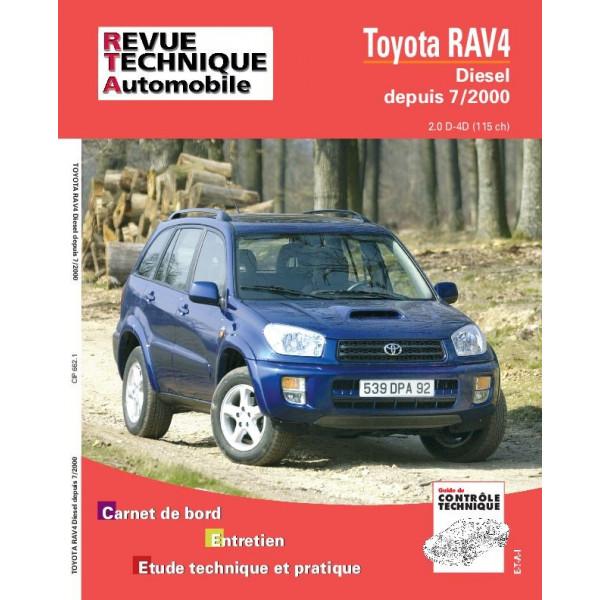 Revue Technique Toyota rav 4 diesel