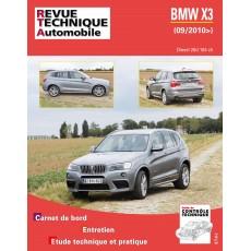 RTA B767 BMW X3 2.0 DIESEL 184 CH. - Version numérique