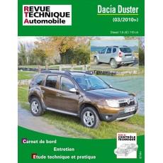 RTA B769 DACIA DUSTER 1.5 DCI 110CH  depuis 03/2010 - Version numérique