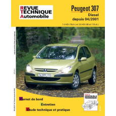 Revue Technique Automobile Peugeot 307 HDi
