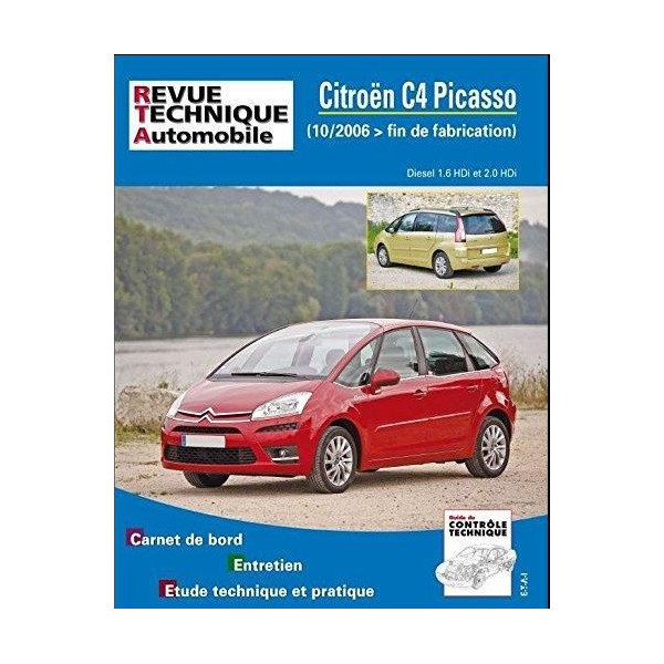 revue technique citroen c4 et grand picasso depuis 2006 rta site officiel etai. Black Bedroom Furniture Sets. Home Design Ideas