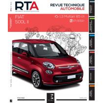RTA 813 - Fiat 500L II : 1.3 JTD (85 ch) (depuis 07/2012)