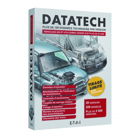 Datatech VUL et 4x4 -Tirage Limité