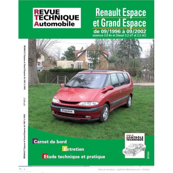 revue technique renault espace 3 1.9 dti