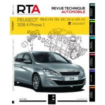 RTA 820 Peugeot 308 II Phase 1 1.6HDI