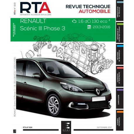 RTA 818 Scenic 3 Phase 3 (2013 - 2016)