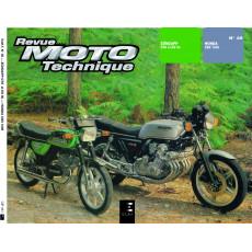 RMT 35 HONDA CBX 1000 et ZUNDAPP KS-GTS 50