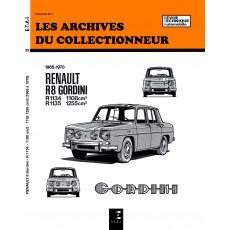 RENAULT 8 GORDINI (1965/1970) - Les Archives du Collectionneur n°25