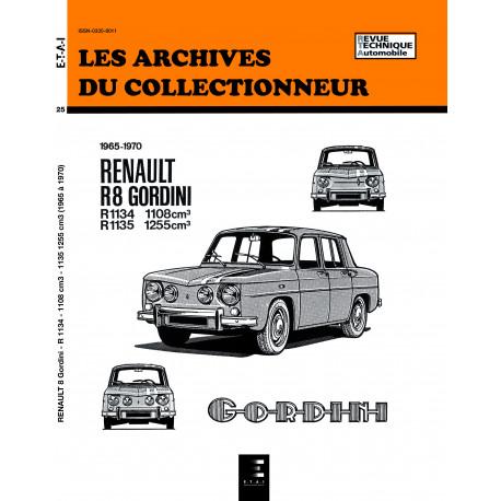 RENAULT 8 GORDINI (1965/1970) N 25