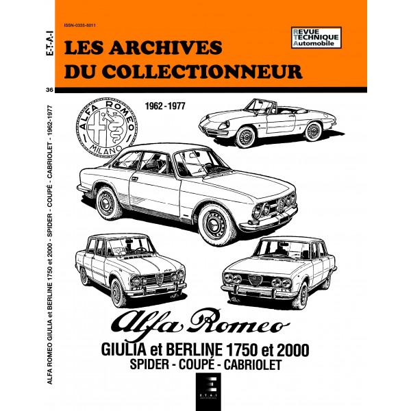 ALFA ROMEO GIULIA 1600-1750-2000 (1962-1977) N° 36