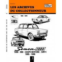 SIMCA 1000 ET 900 (1961/1978) N 35