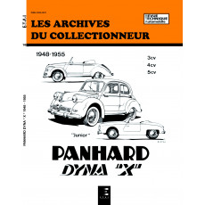 PANHARD DYNA X (1948/1955) - Les Archives du Collectionneur n° 16