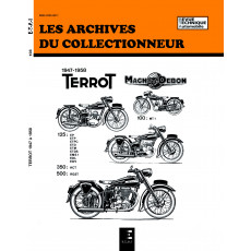 TERROT 100-125-350 HCT ET 500 RGST (1947/1958) - Les Archives du Collectionneur n° 103