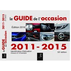PACK GUIDE DE L'OCCASION 2011 / 2015