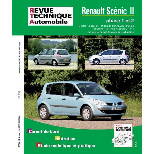 Revue Technique Renault scenic ii