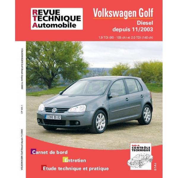 Revue Technique Volswagen golf v