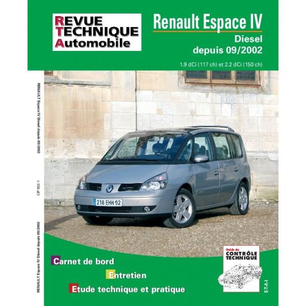 Revue Technique Renault espace diesel