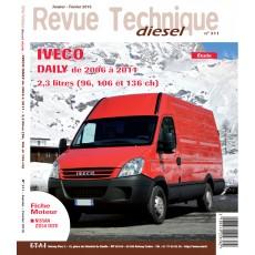RTD 311 IVECO DAILY 2.3l (de 2006 à 2011)