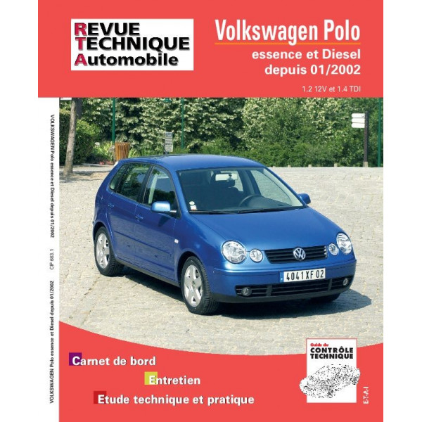 Revue Technique Volswagen polo 3