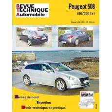 RTA B780 PEUGEOT 508 depuis 2011-01 - Version numérique