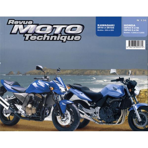 Revue Technique Rmt Honda cbf600 n/s et Kawasaki z750