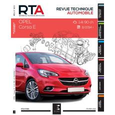 RTA 823 OPEL CORSA V : 1.4i (89 CH) DEPUIS 2014