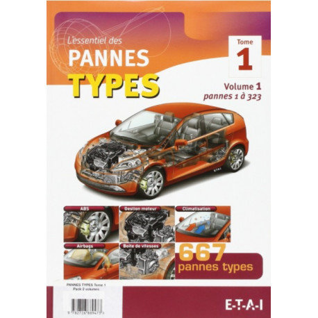 Pannes types tome 1 2 volumes