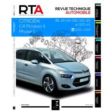 RTA 824 CITROEN C4 PICASSO II (B78) PHASE 1 (2013 à 2017)