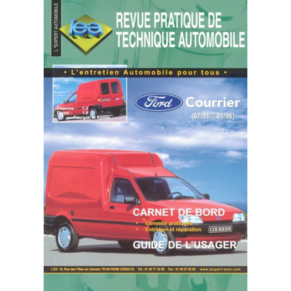 Revue Technique Ford courrier