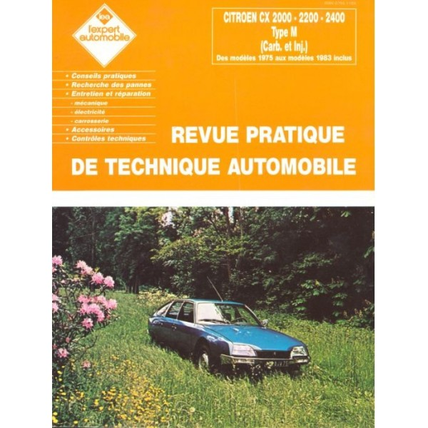 Revue Technique Citroen cx
