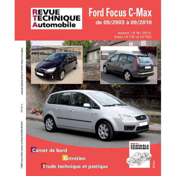Revue Technique Ford focus c max