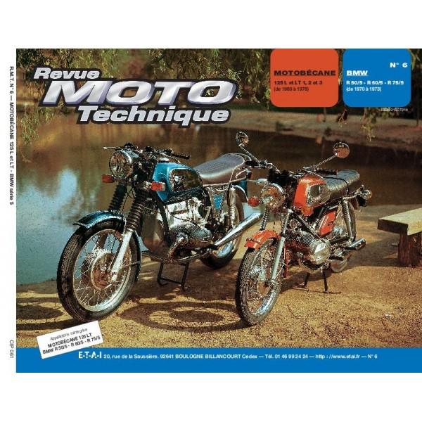 MOTOBÉCANE 125 et BMW R 50/5 R 60/5 R 75/5
