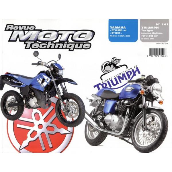 Revue Technique Rmt Yamaha dt125re et x et Triumph tous types 790 865