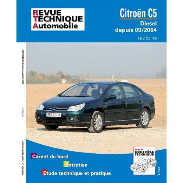 Revue Technique Citroen c5