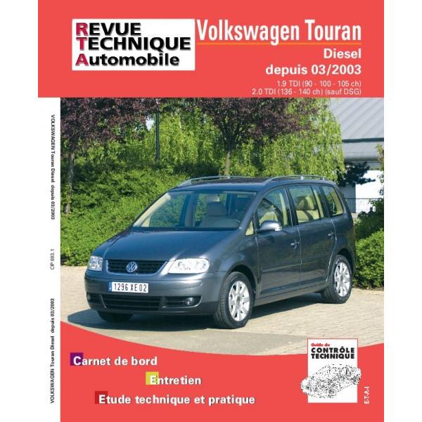 Revue Technique Volswagen touran