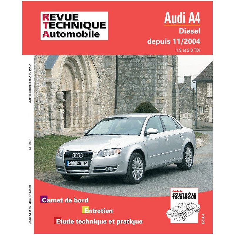 revue technique audi a4 d 11 04 rta site officiel etai